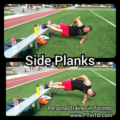 Side Planks (personaltrainertoronto) Tags: boot camp hiit exercise workout bodybuilding athlete athletic fitness model fit kettlebell free weight bodyweight sexy muscles strong strength powerful track intensity interval abs legs glutes booty butt 6 pack sixpack
