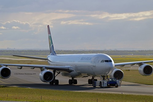 South African Airways ZS-SNA Airbus A340-642 cn/410 @ EDDF / FRA 30-04-2018