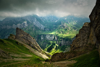Alpstein, Lötzlisalpsattel