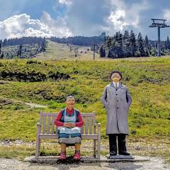 Großer Arber (Mike Bonitz) Tags: deutschland germany bayern bavaria bayrischerwald groserarber berg mountain kunst art statuen skulptur sculpture paar pair instagram googlepixel