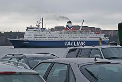 A Baltic ferry is arriving Stockholm harbour (Sweden) (Manfred_H.) Tags: vehicles fahrzeuge wasserfahrzeuge schiffe ships ferries fähren hafen stockholm sweden cars autos