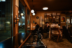 Fuglen Cafe (Pop_narute) Tags: tokyo cafe coffee shop japan japanese people interior night lifer wood cosy