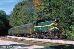 GMRC 405, Ludlow, Vt. (ovondrak) Tags: vermont greenmountainrailway alco rs1 gmrc train railroad diesel locomotive passengertrain