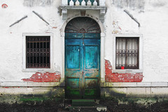 Venice Door (MJR415) Tags: venice europe door color canal venezia photo photography fade