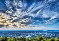 Summer Sky Over Roanoke Valley (Terry Aldhizer) Tags: summer sky roanoke valley mill mountain star overlook blue ridge mountains virginia clouds skies terry aldhizer wwwterryaldhizercom over