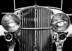 1932 Franklin (Leaning Ladder) Tags: awkschtfescht macungie pa pennsylvania cars automobile antique franklin grille chrome reflections bw blackandwhite canon 7d mkii leaningladder
