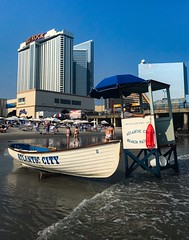 Atlantic City Beach (dweible1109) Tags: iphone lifeguardstand jerseyshore newjersey atlanticcity nj ac