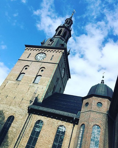The current #Oslo #Cathedral is the third cathedral in Oslo, #Norway. The first, Hallvards Cathedral, was built by King Sigurd I of Norway in the first half of the 12th century, and was located by the Old Bishop's Palace in Oslo, some 1.5 kilometres (0.93