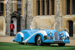 Talbot-Lago T26 Saoutchik Grand Sport Cabriolet (1948) (Kyter MC) Tags: concours elegance 2016 windsor castle palace europe cars voituresanciennes anciennes classic classiccars kyter canon eos sk ks photography automotive wwwphotosautomobilescom united kingdom england talbotlago t26 saoutchik grand sport cabriolet 1948