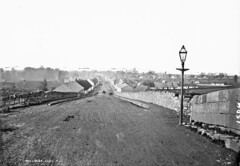 General View, Mullingar, Co. Westmeath (National Library of Ireland on The Commons) Tags: robertfrench williamlawrence lawrencecollection lawrencephotographicstudio thelawrencephotographcollection glassnegative nationallibraryofireland generalview mullingar cowestmeath ireland bridge houses jackthestroller austinfriarsstreet dublinroad countywestmeath westmeath heveyinstitute lamppost canal royalcanal