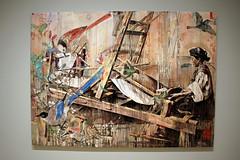 Loom, by Hung Liu (JB by the Sea) Tags: sanfrancisco california july2018 financialdistrict sanfranciscomuseumofmodernart sfmoma painting hungliu