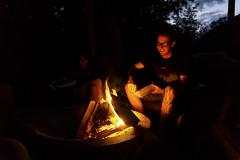 Happy Fire! (Alex Luyckx) Tags: lanternbayresort lanternbay morrisonlake lake retreat water summer cottage campfire friends social gravenhurst ontario canada muskoka cottagecountry sony sonya6000 sonyepz1650mm13556oss