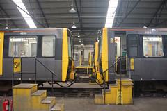 4030-4054-GF-05082018-1 (RailwayScene) Tags: 4054 4030 tynewearmetro metrocar gosforth