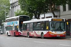 SL 1 Cork 17/08/18 (Csalem's Lot) Tags: bus buseireann cork sl1 223 scania omnilink omnicity sl southmall