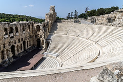Odeon (Maciej Dusiciel) Tags: greece athens architecture architectural ancient city urban travel europe world sony alpha theater acropolis