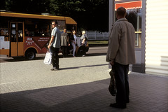 Leica M2, Zhytomir, Ukraine (dmitriy.marichev) Tags: leica leicam leicam2 m2 502 leicasummicronm50mmf2 leicasummicronm50mm summicron fujifilmfujichromevelvia100professionalrvp100 velvia 100 film analog color e6 positive slide street city style ukraine dmitriymarichev zhytomir