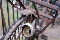 100 Bicycles (twenty three) (J a n W i l l e m) Tags: bike bicycle old rusty worn vintage pentax 35mm 24 k7 dof