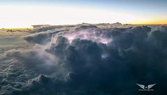 Thunderstorm, from above (gc232) Tags: thunderstorm thunderstorms thunder lightning strike cb tsra cumulonimbus bad weather storm