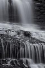 Pearson Falls Isolation (Reid Northrup) Tags: pearsonfalls waterfall water rocks nikon longexposure reidnorthrup cascade northcarolina