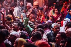 Goli Holi in Shri Banke Bihari Mandir, Vrindavan India (AdamCohn) Tags: abeer adamcohn bankebiharimandir hindu india shribankeybiharimandir vrindavan gulal holi pilgrim pilgrimage अबीर गुलाल होली