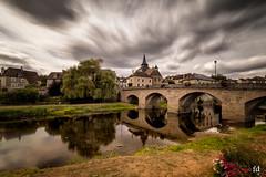 De l'autre côté du pont - the other side (flo73400) Tags: pont bridge village longexposure color le poselongue paysage