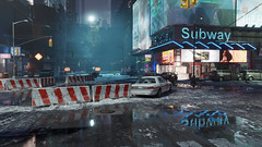 The Division | 4k (screenreel) Tags: thedivision tomclancy gaming videogame graphics videoengine digitalart street cold wet snow night sky cloudy reflection road destroyed abandoned car policecar lights glow building streetlight darkzone epidemy epidemic virus