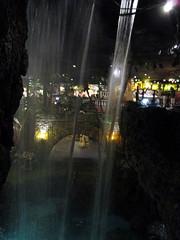 Behind the Waterfall (BunnyHugger) Tags: casabonita colorado denver mexican restaurant waterfall