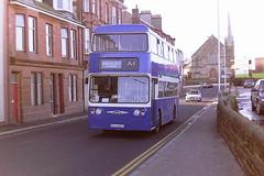 A.1. SERVICE VCU402T (bobbyblack51) Tags: a1 service vcu402t daimler fleetline mcw tynewear pte 402 saltcoats 1995