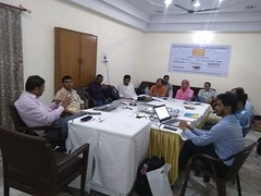 "Workshop on ""Strategic Planning"" for the members of Pravasi Shramik Adhikar Manch (PSAM)"