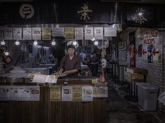 Eating room (karinavera) Tags: city night photography cityscape urban ilcea7m2 street japan people kyoto
