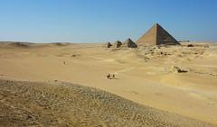 Menkaure. (waitingfortrain) Tags: cairoegypt gizapyramids ancientworld ancienthistory pyramids menkaurepyramid egypt cairo ancient hist