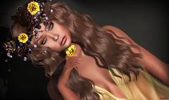 Lori Novo (Lori Novo) Tags: lorinovo secondlife avatar virtual blogger lode flowers headpiece glamaffair skin sintiklia hair dubaievent baisatice
