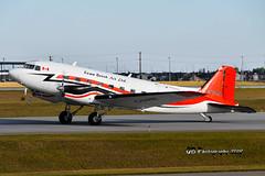 C-GVKB Kenn Borek Air Douglas DC-3C DSC_3114 (Ron Kube Photography) Tags: aircraft plane flight airliner nikon nikond500 d500 ronkubephotography yyc calgary calgaryinternationalairport cgvkb