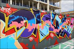 Onue (Alex Ellison) Tags: onue ac southlondon brixton skatepark halloffame urban graffiti graff boobs
