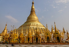 Shwedagon Pagoda in Yangon, Myanmar (phuong.sg@gmail.com) Tags: ancient architecture art asia asian asiatic back background buddha buddhist burma culture dawn destination dusk gold golden history holy lit main monastery myanmar oriental pagoda place rangoon religion roof royal shwedagon sky southeast spiritual spirituality stupa sunrise swedagon temple top tourism travel wat yangon