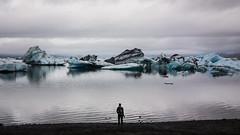 Contemplation (Explored!!!) (ilaria_gori) Tags: iceland ice sea jokulsarlon lagoon glacier
