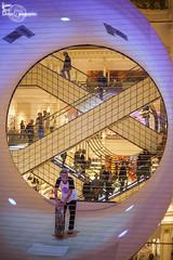 Lost (Lonely Soul Design) Tags: skate mall bon marché paris colour loop skater indoor
