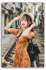 Thư Thư (1) (01639507903) Tags: cute love lips noise girrl porture photo tree outdoor hair eyes portraiture