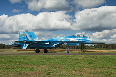 Flankers @ Kleine Brogel 2018 (gravityxgrace) Tags: airshow aviation aircraft avgeeks su27 flanker