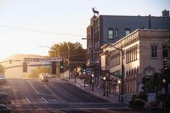 Prescott-1754-HDR-Edit (Michael-Wilson) Tags: michaelwilson morning morninglight daybreak prescott prescottaz arizona town city road elkstheater light dawn
