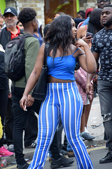 DSC_8143 Notting Hill Caribbean Carnival London Exotic Colourful Blue Outfit Girls Aug 27 2018 Stunning Ladies (photographer695) Tags: notting hill caribbean carnival london exotic colourful costume girls aug 27 2018 stunning ladies blue outfit