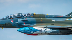Dassault Mirage 2000B 3-IT (Andrew Bloomfield Photography) Tags: aircraft andrewbloomfieldphotography aviation riat riat2018 wwwandrewbloomfieldphotographycouk dassaultmirage2000b3it cockpit airplane sky jet pilots tandem dassault mirage 2000b military