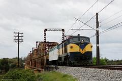 Puente Ñuble (TrenSur) Tags: tren efe ferrocarril trencentral chillán sannicolás ñuble puenteñuble 3209 locomotora chile