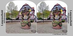 Langenselbold_Marktbrunnen_02_stereokarte_P1290575 (said.bustany) Tags: hessen 2017 langenselbold stereo stereokarte brunnen marktbeunnen april