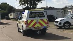 NEW HM Coastguard Responding (slinkierbus268) Tags: hm coastguard mitsubishi truck responding bluelights sirens brand new norfolk winterton emergency