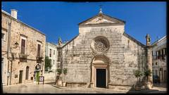 Church (Jean-Louis DUMAS) Tags: mur pavés place ville village hdr church chapelle église italia italie pouilles