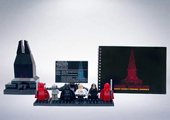 Vaders Castle (BensBuilds) Tags: lego star wars rogue one mustafar krennic ucs darth vader moc minifig minifigure