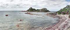 Goat Island. (taszee63) Tags: tasmania panorama hdr 3xp goatisland bassstrait water