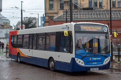 Stagecoach SN65OEO (Mike McNiven) Tags: stagecoach merseyside cheshire southlancashire railreplacement manchester victoria enviro300 alexanderdennis wigan wallgate