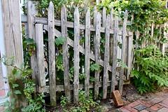 Wooden Gate (Read2me) Tags: cye tcfe provincetown wood brick gate fence lines pregamesweepwinner duele ge